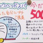 クイックスパ&セラゼムマスターV3ワンコインキャンペーン☆